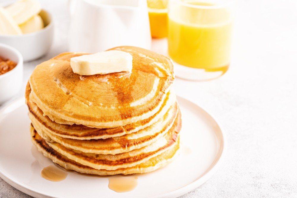 homemade butter pancakes