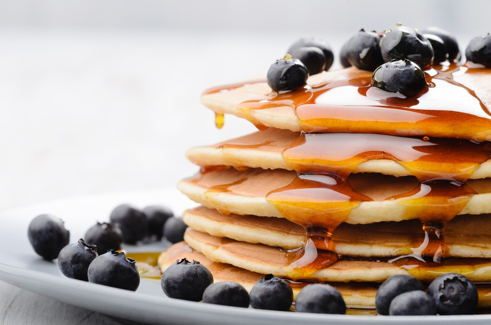 quick and easy pancake recipes american blueberry