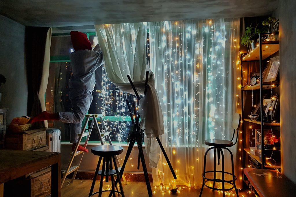 fair lights for bedroom in uni